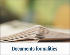 Documents-formalities
